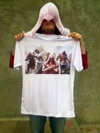 Русунок на футболку Assassin's