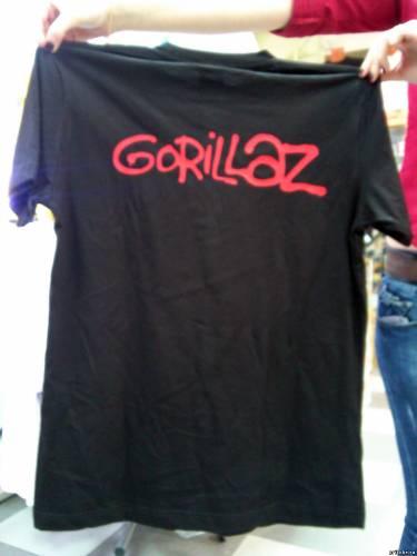 Напечатать футболку с эмблемой Гориллаз в Краснодарском крае за день;