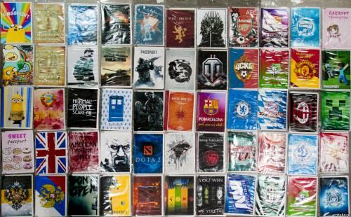 Готовые обложки для паспорта в магазине и на заказ