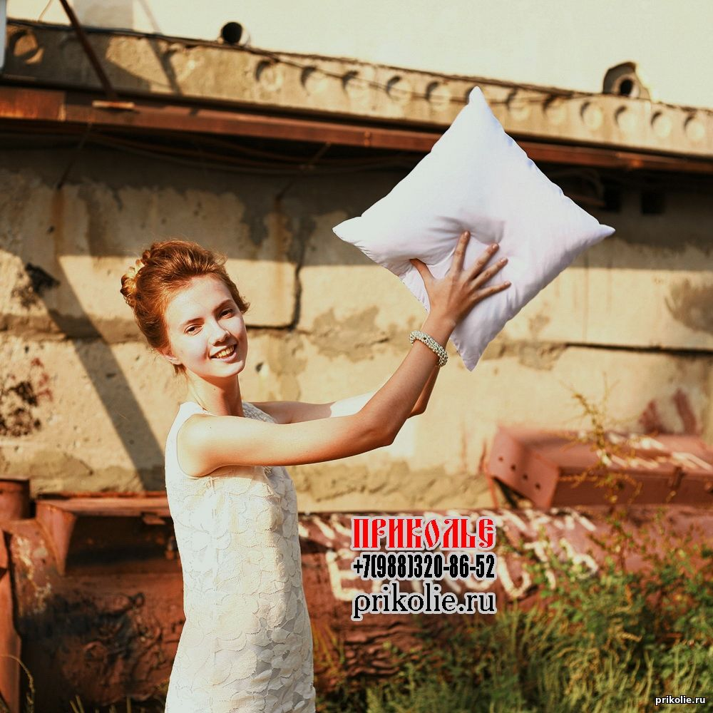 Заказать нанесение на подушку фотографии, надписи, рисунка